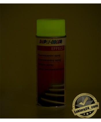 Farba Lakier fotoluminescencyjny świecący w nocy, ciemności Motip Dupli 400 ml