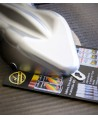 Profesjonalny lakier do felg, srebrny z efektem chromu Motip ColorMatic 400ml