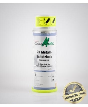 Profesjonalny lakier bezbarwny z utwardzaczem (2k) do metalu