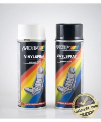 Lakier, farba do skóry samochodowej, winylu, tworzyw sztucznych MOTIP 400 ml