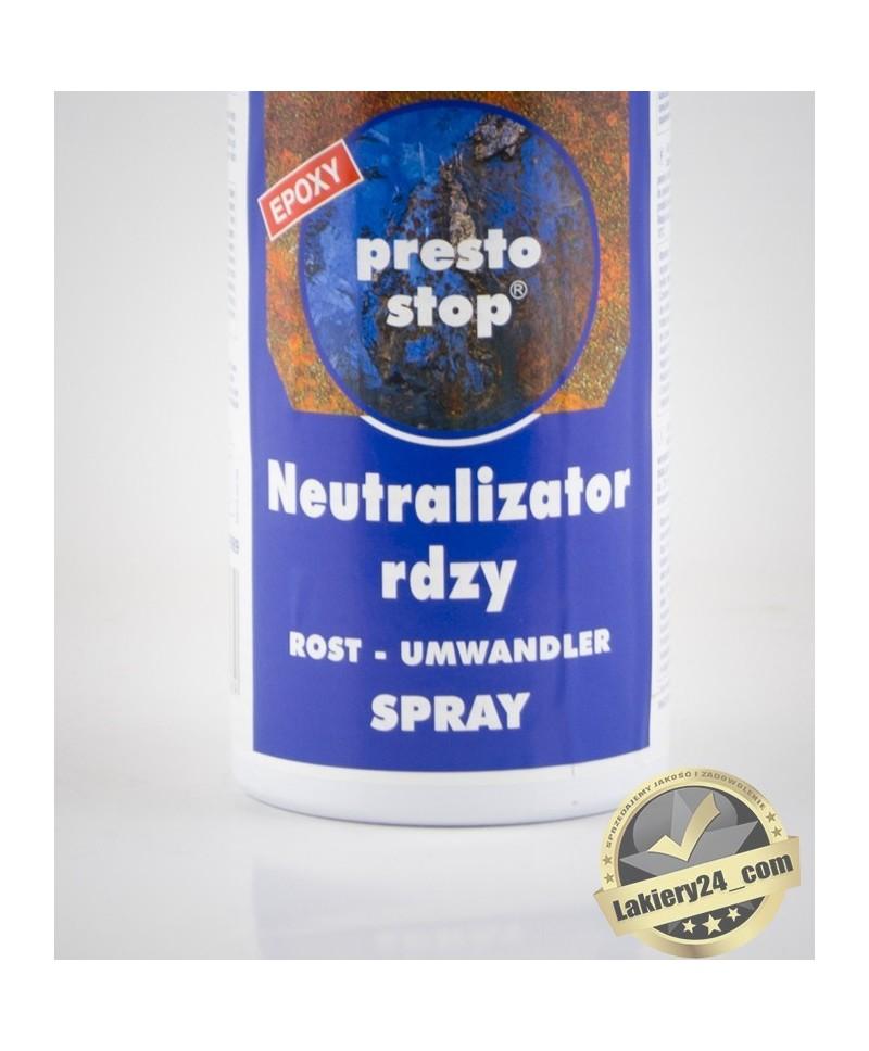 Motip Presto odrdzewiacz, neutralizator rdzy i podkład epoksydowy 2w1 - spray 400ml