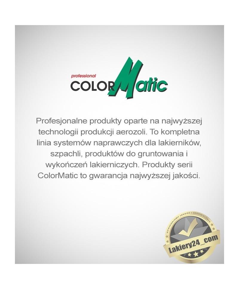 Profesjonalny srebrny lakier do felg z efektem chromu Motip ColorMatic + 2 Podkłady