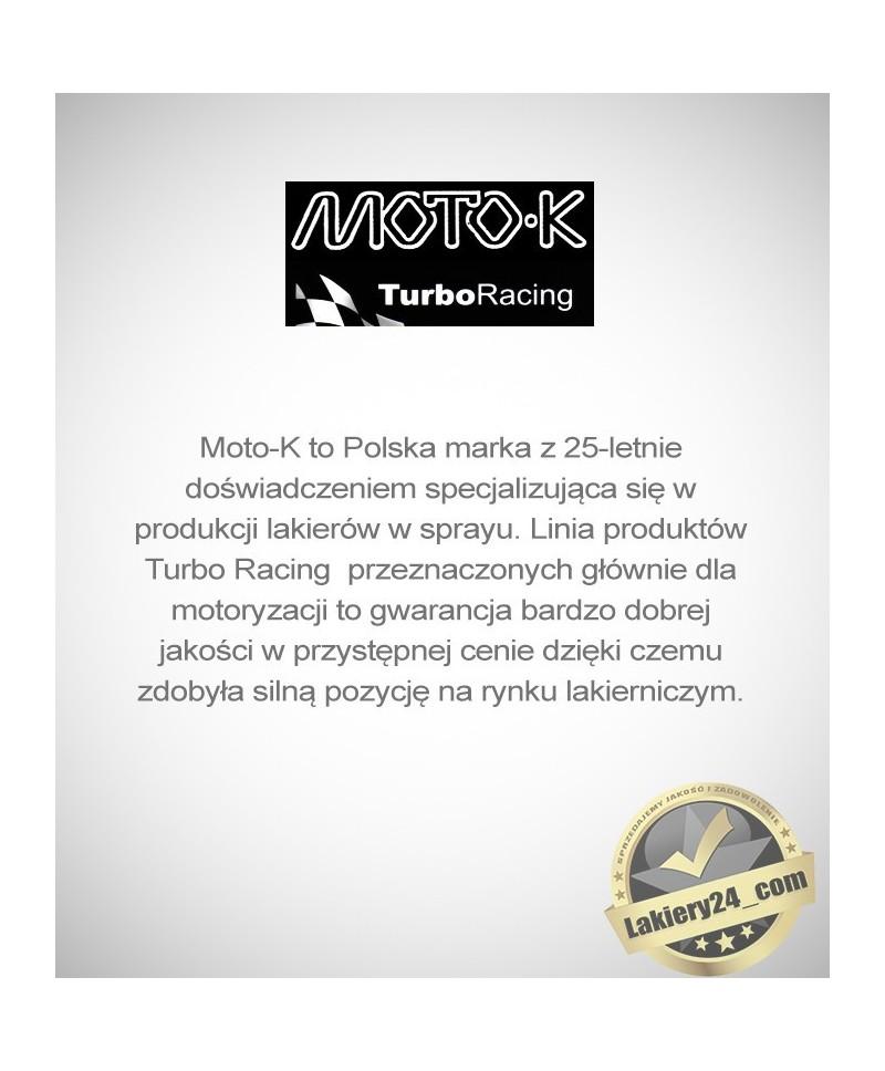 Moto-K - Doskonały czarny lakier akrylowy spray 500ml