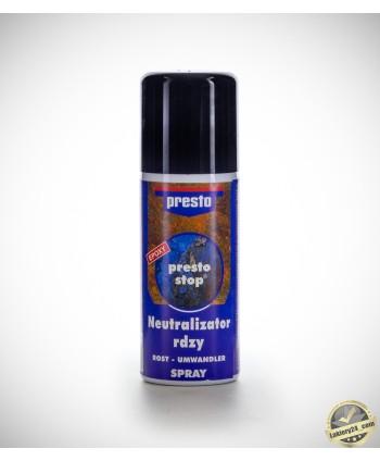Motip Presto odrdzewiacz, neutralizator rdzy i podkład epoksydowy 2w1 - spray 150ml