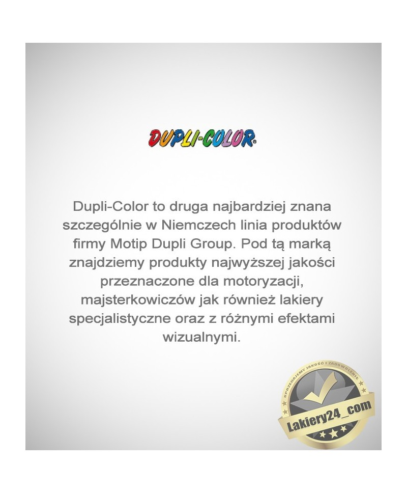 Profesjonalny znakomity bezbarwny lakier spray 150 ml - Motip Dupli-Color