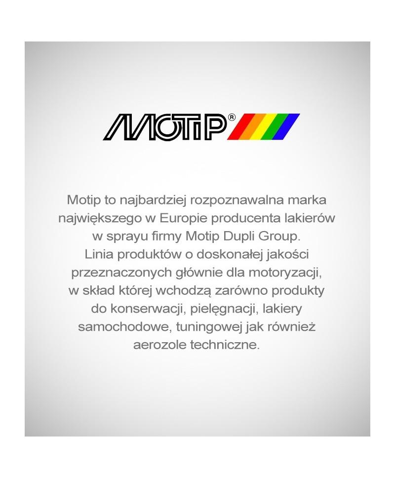 Motip - Profesjonalny czarny lakier akrylowy spray 500ml