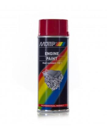 Motip - Czerwona farba do malowania silnika 400 ml