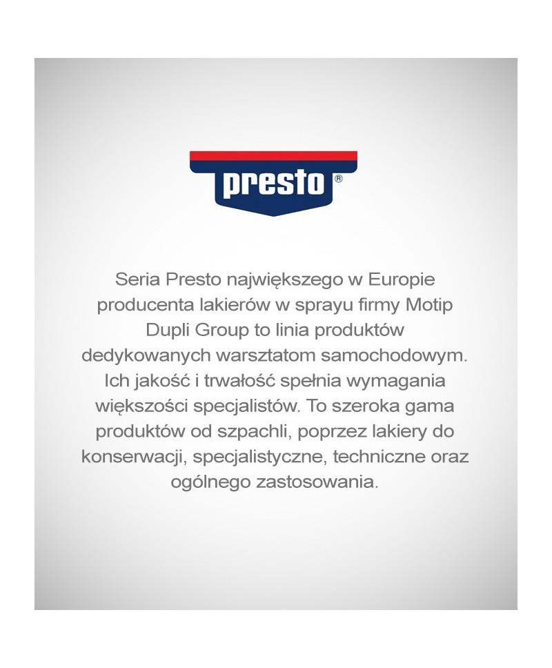 Motip Presto - Znakomity czarny lakier akrylowy spray 500 ml