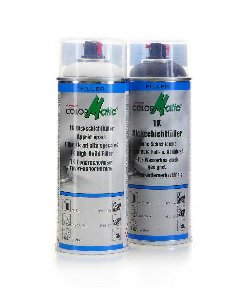 Profesjonlany wypełniacz grubopowłokowy jak szpachla Motip ColorMatic 400 ml