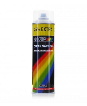 Motip - Bezbarwny lakier akrylowy spray 500 ml