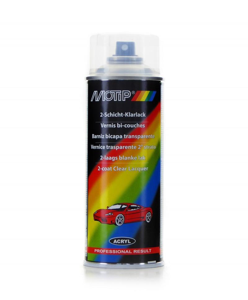 Motip - Profesjonalny znakomity bezbarwny lakier spray 400 ml