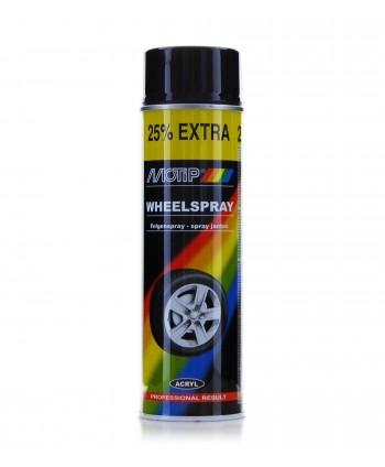 MOTIP - Czarny połysk spray do felg i kołpaków 500 ml