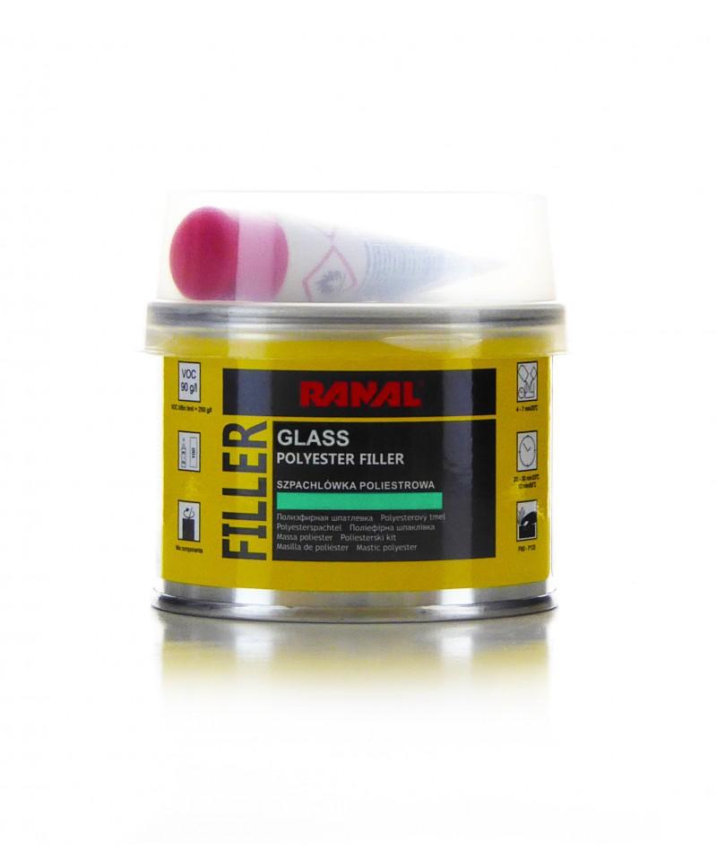 Profesjonalna szpachlówka z włóknem szklanym 250g