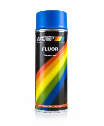 Motip - Niebieski lakier fluorescencyjny w sprayu 400 ml