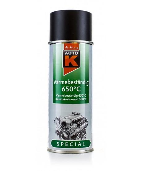 Auto-K Profesjonalny lakier żaroodporny spray 400 ml (650 st.C)