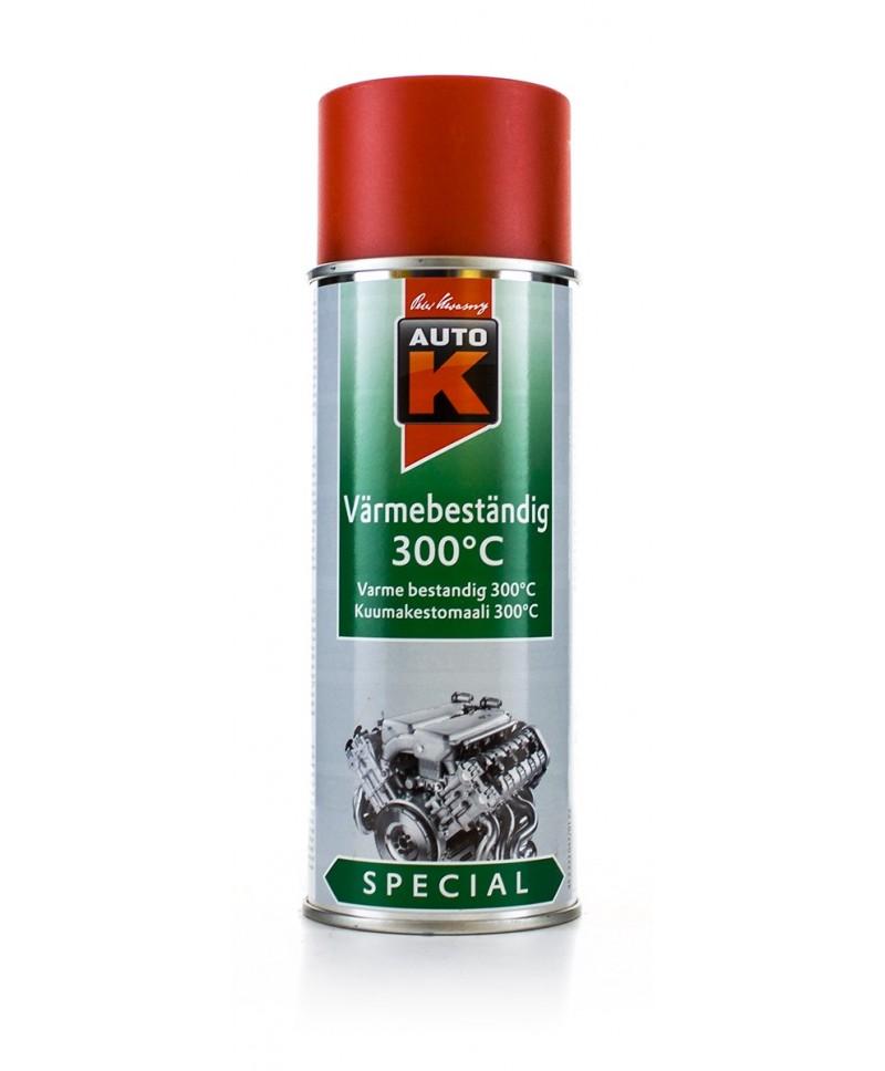 Auto-K Profesjonalny lakier żaroodporny spray 400 ml czerwony (300 st.C)