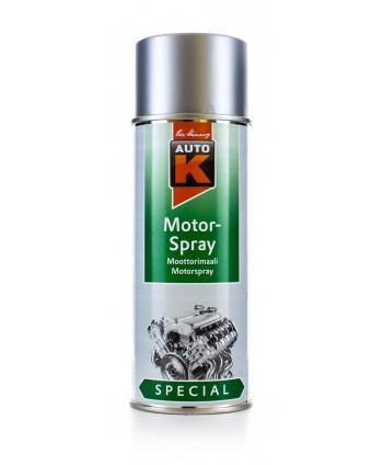Auto-K Srebrna farba, lakier do malowania silnika 400 ml