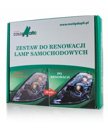 Colormatic - Zestaw do renowacji i polerowania lamp,...