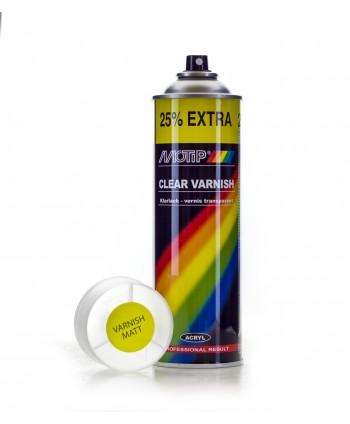 Motip - Bezbarwny matowy lakier akrylowy spray 500 ml