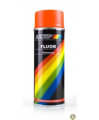 Motip - Czerwony lakier fluorescencyjny w sprayu 400 ml