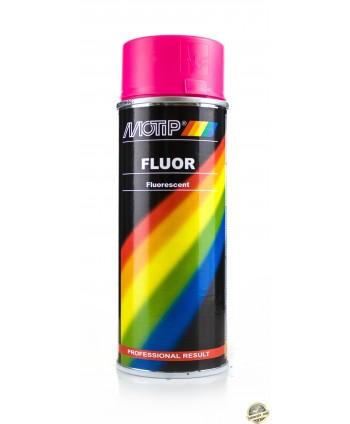 Motip - Różowy lakier fluorescencyjny w sprayu 400 ml
