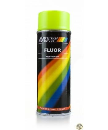 Motip - Żółty lakier fluorescencyjny w sprayu 400 ml