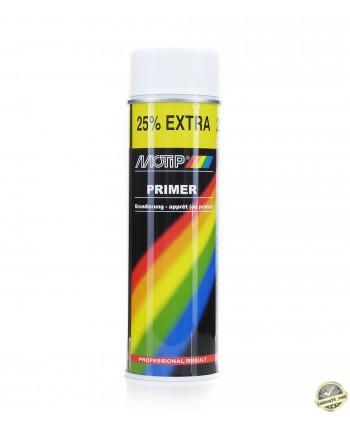 Motip - Biały lakier podkład akrylowy spray 500 ml