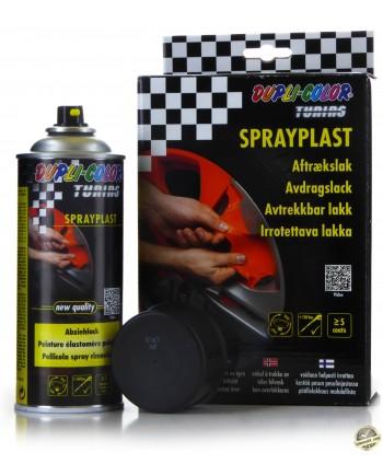 MoTiP Dupli - Czarny mat guma w sprayu 2x 400 ml