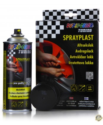 MoTiP Dupli - Czarny połysk guma w sprayu 2x 400 ml
