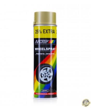 MOTIP - Złoty spray do felg i kołpaków 500 ml