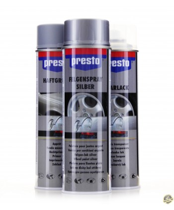 Motip Presto - Zestaw do felg podkład baza bezbarwny 3x...