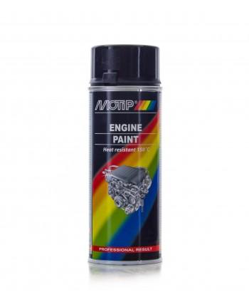 Motip - Czarna farba do malowania silnika 400 ml