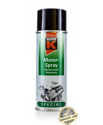 Auto-K Czarna farba, lakier do malowania silnika 400 ml