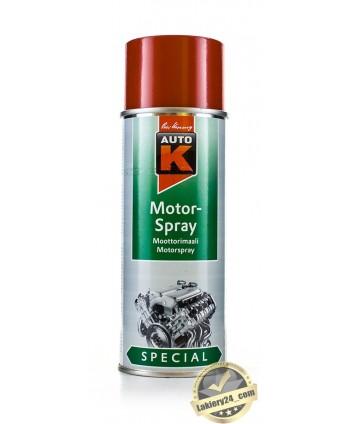 Auto-K Czerwona farba, lakier do malowania silnika 400 ml