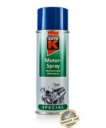Auto-K Niebieska farba, lakier do malowania silnika 400 ml