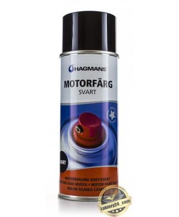 Hagmans Motorfärg - Czarny lakier do silników 400ml