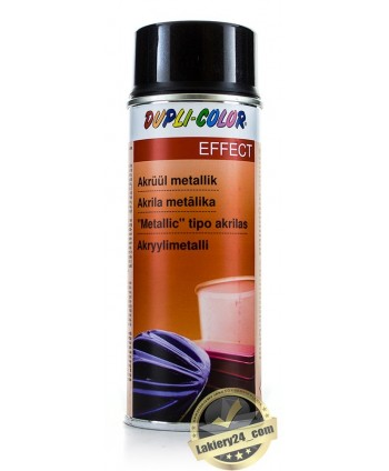 Dupli Color - Czarny lakier metaliczny metalik spray 400 ml