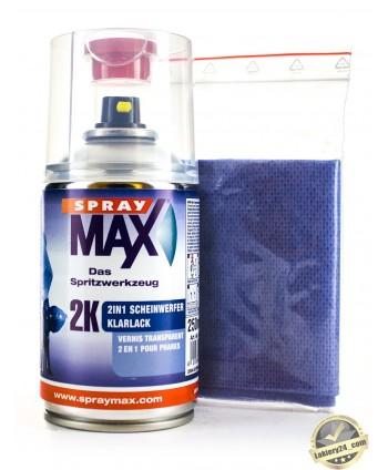 SprayMax - LAKIER BEZBARWNY 2w1 DO LAMP REFLEKTORÓW SPRAY 2K