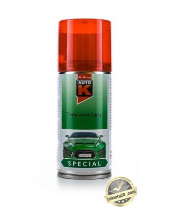 Auto-K - CZERWONY LAKIER DO PRZYCIEMNIANIA LAMP SPRAY  400ml