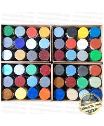 Lakier samochodowy Motip mix kolorów zestaw (12szt. x 400ml)